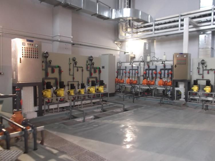 上海迪斯尼综合水厂项目
