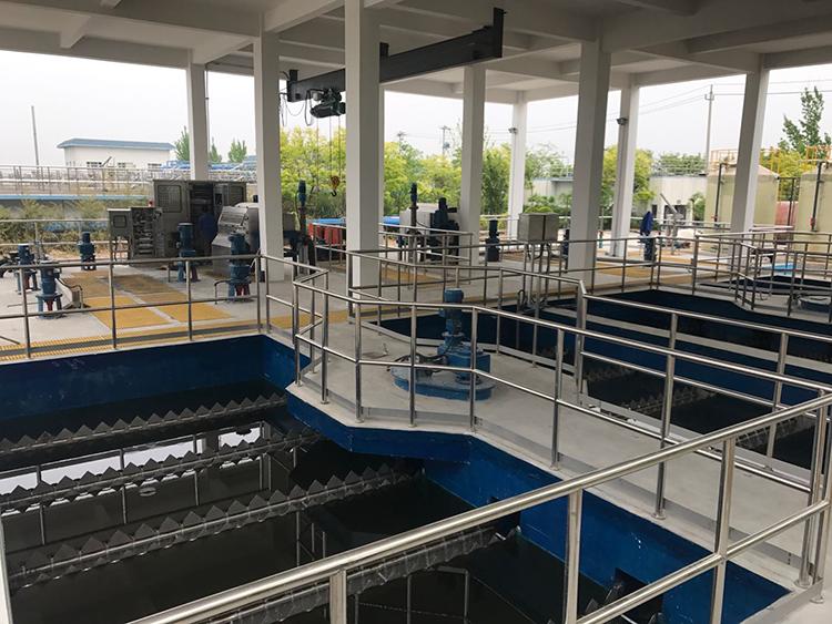 山西吕梁第二污水处理厂改扩建工程