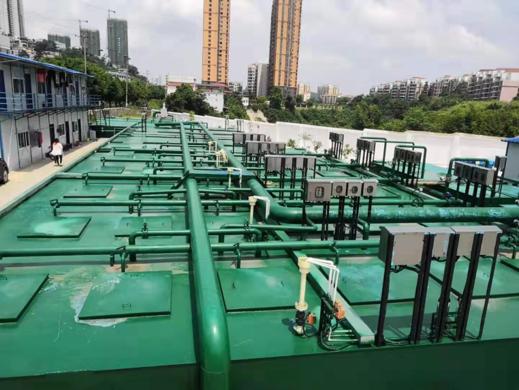 南宁市青秀区35(仙葫大道中)直排口污水处理项目